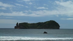 Vila Franca do Campo islet Stock Footage