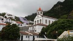 Ribeira Quente, Azores Stock Footage