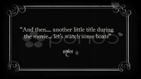 After Effects Project - Pond5 Silent Movie FX title Cards 7745595