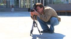 photographers - stock footage
