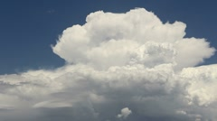 Cloud Explosion Time Lapse Stock Footage