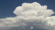 Stock Video Footage of Cloud Explosion Time Lapse