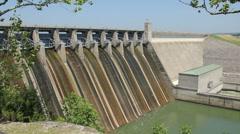 Table Rock Lake Dam 3 Stock Footage