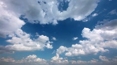 sky and cloud - timelapse - stock footage