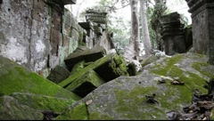 Angkor Thom 2 Stock Footage