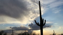 Heavenly Arizona Sky Time Lapse Stock Footage