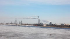 Power station. Stock Footage