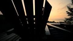 Yoga Tranquility at Sunrise Stock Footage
