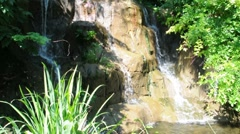 Three Waterfalls - stock footage