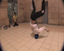Stock Video Footage of break-dance France (1.1.a)
