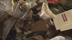 Dumping Garbage 1 Stock Footage