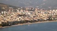 Turkey City Alanya Stock Footage