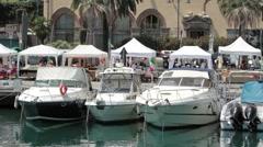 Savona Italy marina boats P HD 8784 Stock Footage