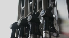 "pumps on Fuel Station"" - stock footage"