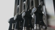 Pumps on Fuel Station