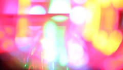 Crazy Abstract Led Lights #1 Stock Footage