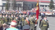 Stock Video Footage of PETROZAVODSK, RUSSIA -MAY 09: Victory Day celebration in the capital of Karelia