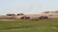 Earth moving construction Stock Footage