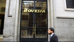 Bovespa Brazilian Stock Exchange Market FULL HD 1080P - stock footage