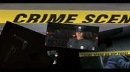 Crime Scene Collage 1 Stock Footage