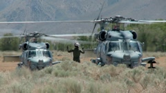 Black Hawk, UH-60 Helicopter - stock footage