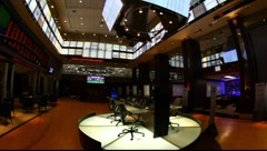 Trading panel at Bovespa Brazilian Stock Exchange Market FULL HD 1080P - stock footage