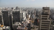 Stock Video Footage of Sao Paulo Brazil skyline  FULL HD 1080P