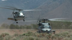 Black Hawk, UH-60 Helicopter Stock Footage