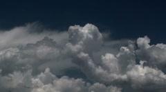Cloud Monsoon Symphony Time Lapse Stock Footage