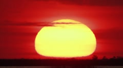 Sunset - stock footage