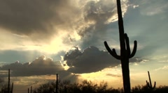 Arizona Desert Time Lapse Stock Footage