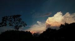 Cumulus nimbus Stock Footage