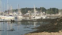 Port Trinite sur mer 2 Stock Footage