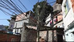Favela Rocinha, Rio de Janeiro, Brazil FULL HD 1080P Stock Footage