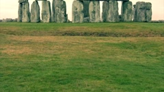 Stonehenge in the Morning 12 Stock Footage