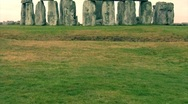 Stock Video Footage of Stonehenge in the Morning 12