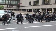 Protestors - Police prepare, Republican National Convention 08' Stock Footage