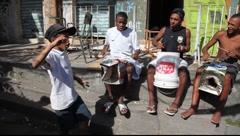 Brazilian kids street dance in Rio de Janeiro Brazil FULL HD 1080P Stock Footage