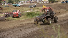 Racing Buggy Stock Footage