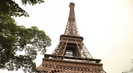 Stock Video Footage of eiffel tower