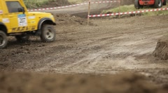Small Jeep Stock Footage