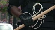 Protestors - Police Prepare 2 - Republican National Convention 08' Stock Footage
