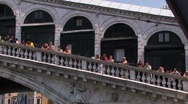 Stock Video Footage of Venice - Rialto Bridge