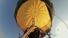 Air balloon festival Stock Footage