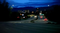 Boise, Idaho Downtown City Scape Stock Footage