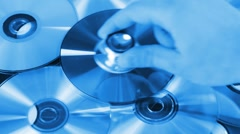 Disk Diagnosis Stock Footage