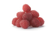 Stock Video Footage of Raspberries rotating