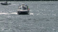 police boat italy 02 e - stock footage