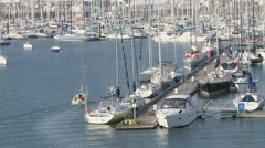 Port Trinite sur mer 4 Stock Footage