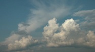 Stock Video Footage of Clouds. Time Lapse 2